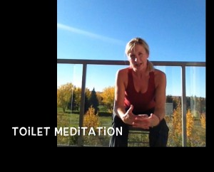 toilet meditation